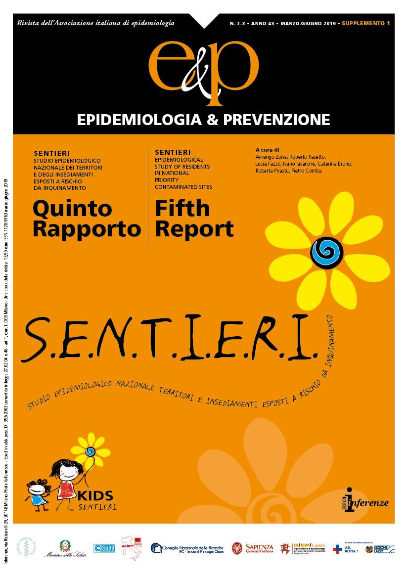 SENTIERI: Risultati   Epidemiologia&Prevenzione
